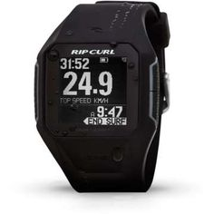 An essential bit of surf tech that gives you instant local tide info and lets you track and analyse your surf performance The Rip Curl Search GPS Watch is like no other in the lineup. Track your surf session, register your top speed and total distance, a Army Watches, Sport Watches, Surf Watch, Best Smart Watches, Surf Wear, Wearable Technology, Rip Curl, Fashion Watches, Curls