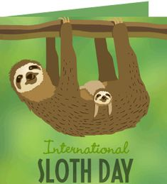 BarbaraAway F. just received a Care2 Thank You Note For Taking Action on International Sloth Day.