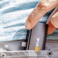 Never lose power again - this tiny iPhone charger fits in your pocket.