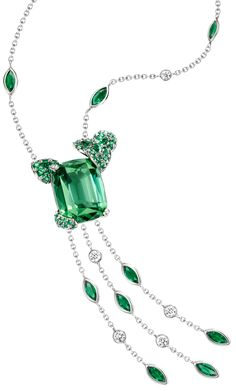 #Mojito cocktail inspiration #Pendant by Piaget