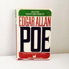 Vtg Selected Poetry Prose of Edgar Allan Poe 1951 HB DJ Red Book Mabbott Nice | eBay
