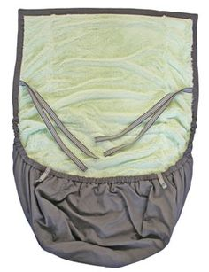 Cold Weather Pouch: New product from Moby to keep baby warm while in the Moby Wrap, carseat or stroller. $68
