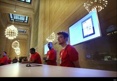 the advent of an Apple store in the historic Grand Central Station!