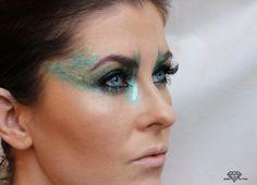 makeupart eyelid dramatic colorful eyelook