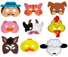 ¡Me encantan!   Normalmente este tipo de máscaras se relacionan más con los niños pequeños, para ellos es muy divertido esconderse tras otra...