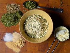 Spice blend to make your own zingy mustard ranch mix. http://www.ivillage.com/make-your-own-herb-and-spice-blends/3-a-518341