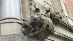 Quirky architectural detail
