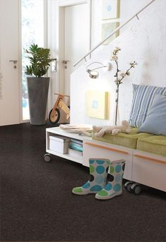 BuildDirect: Cork Flooring Cork Flooring   Alentejo Collection   Guadiana  Like the floor and the bench seat on casters