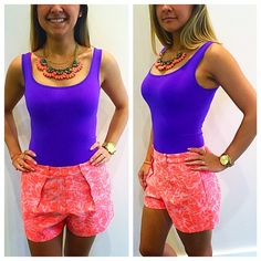 The perfect brights for summer! Stop in store or call us at 813-258-8800 if you would like to purchase the outfit! #newarrivals #summeroutfits #summerstyle #inlove #socute #brights #fashion #trendy #jcrew #theory #moshposhfinds #ootd #mymoshposh #designerconsignment
