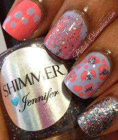 Polish Obsession: Busy Girls Summer Nail Art Challenge - Mix Match