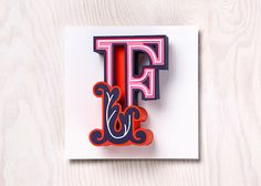 Creative Handmade 3D Letterforms Express Various Themes With Bright Visuals - DesignTAXI.com