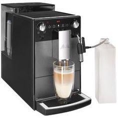 Reduzierte Kaffeevollautomaten günstig online kaufen | LadenZeile Barista, Melitta Caffeo Solo, Automatic Espresso Machine, Drip Coffee Maker, Popcorn Maker, Nespresso, Kitchen Appliances, Products, Black Coffee