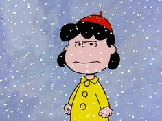 charlie brown cartoon, lucy in snow snowing outside, This Is bullshit, east coast record winter blizzard Spring 2015 You Smile, Peanuts Gang, Lucy Van Pelt, Charlie Brown Christmas, Peanuts Christmas, Christmas Cartoons, Charlie Brown Peanuts, Merry Christmas, Haha Funny