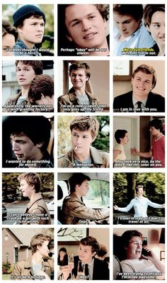 """Augustus Waters: """"I've been trying to tell you I'm kinda awesome."""" I love this line."""