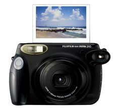 Instax 210, this is my big baby! It prints wide ultra sharp and ultra clear photos for a portion of the price you would spend on a Polaroid and it's film.   http://filmfunfilmfun.tumblr.com/post/31136566124/introducing-the-instax-210 #instant film #fujifilm #instax #photography #camera
