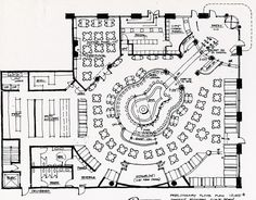 Detroit Hard Rock Cafe Floor Plan