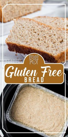 It's quick, easy and within reach of everybody, even if you are not an expert baker. Skip tedious rising phase and just mix ingredients and flavors to prepare a different healthy breakfast every day. You can serve this pressure cooker gluten-free bread with homemade raspberry jam, blueberry jam, strawberry jam or a simple ham & cheese. I'm using a disposable loaf pan for this recipe, since I found it fits my Instant Pot better.