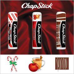 Chapstick - Seasonal Varieties..... I didn't know they had seasonal chap stick!!!