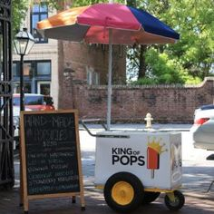 King of Pops -  What could be better at a summer wedding!!