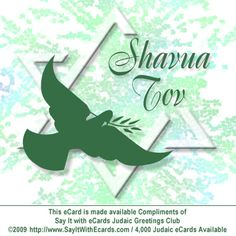 "Shavua Tov means ""Have a Good Week in Hebrew!""  CLICK THIS LINK  to send this FREE Shavua Tov eCard and make someone else's week FANtastic.   http://www.sayitwithecards.com/index.php?step=makecard_step1_id=8555"