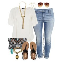 Plus Size - Summer Casual by alexawebb