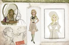 Photo Flash: WICKED As An Animated Film?! Disney Artist Imagines Cartoon Elphaba, Glinda and More!