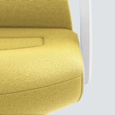 PURE INTERIOR Edition 11 #Gelb. Mehr Design für dein #HomeOffice. Mit einer vielfältigen und hochwertigen Stoffauswahl und ihrem ergonomischen Design vereint die PURE INTERIOR Edition bequemes und ergonomisches Sitzen. Das Design und die Farbgebung des PURE machen ihn zu einem optischen Leichtgewicht. Farblich abgestimmt bringt er sich in das Home Office ein und kann sich gleichzeitig zurücknehmen. #schreibtischstuhl #design #interiordesign #Stoff #ergonomie #interstuhl Home Office, Pure Home, Interiordesign, Designer, Pure Products, Yellow, Colors, Office Home, Home Offices