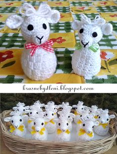 Easter Treats, Animals And Pets, Crochet, Sheep, Basket, Disney Characters, Holiday, Fun, Crafts