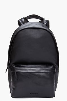 Givenchy Black Obsedia Backpack for men | SSENSE