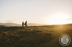 #walking #trip #adventure #together #love sunset #ireland #dreameyestudio