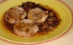 Receta de Redondo de pavo con salsa