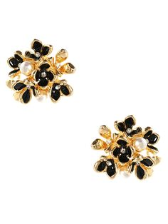 Nikki Stud Earrings from Workwear: Stud Earrings on Gilt