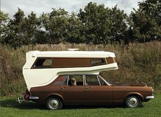 These Classic Camper Vans were Stylish and Practical: Ginetta Car Camper