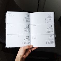 Bujo Bullet Journal Future Log Monthly Spread Inspiration Minimalistic Simply