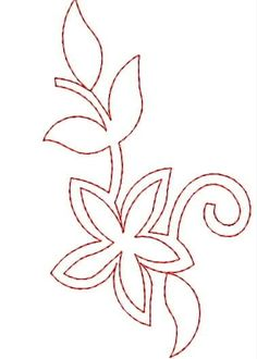 outline designs for embroidery
