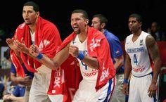 RD se sacude y logra su primera victoria en el Campeonato FIBA Américas 2015