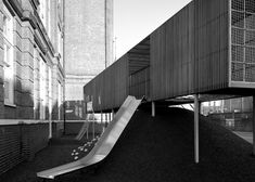 Asif Khan adds elevated play area to London primary school