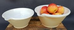 Foto - Google Foto Pots, Pudding, Pottery, Tableware, Google, Desserts, Hall Pottery, Tailgate Desserts, Dinnerware