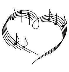 Illustration about Music of love. The heart of the music camp with notes. Illustration of drawing, note, heart - 15706102 Music Love, Art Music, Music Is Life, Music Painting, Music Tattoo Designs, Music Tattoos, Tatoos, Music Note Heart, Instruments