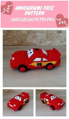 We continue to provide you with the latest recipes related to Amigurumi. Amigurumi classic car free crochet pattern is waiting for you. Crochet Baby Toys, Crochet Animals, Free Crochet, Knit Crochet, Ruby Red, Barbie Dolls, Free Pattern, Hello Kitty, Classic Cars