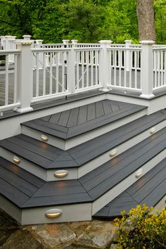 Take the next step towards making your deck a reality. See your vision come to life with our deck designer tool. Patio Deck Designs, Backyard Pool Designs, Backyard Patio, Back Patio, Patio Steps, Deck Design Tool, Design Design, Timbertech Decking, Landscaping Around Deck
