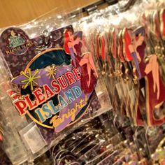 Celebrating Pleasure Island at @disneyd23 #D23DestinationD #ShesNotBadJustDrawnThatWayDontJudgeHer