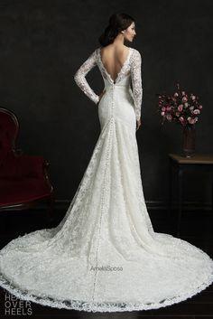Amelia Sposa 2015 Wedding Dress Style: Novia | Heart Over Heels #bridal #designer