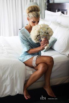 Amazing bridal boudoir! Source: Emmaline Bride