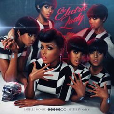 """Music to Our Ears: Janelle Monae's """"Dance Apocalyptic"""" from The Electric Lady, drops September 10. #SelfMagazine"""