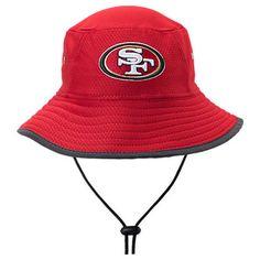 eedd800e184 New Era San Francisco 49ers 2017 NFL Training Bucket Hat
