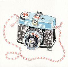 Diana Mini Illustration
