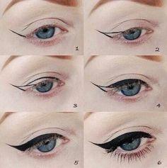 Eyeliner w/ 6 easy steps!