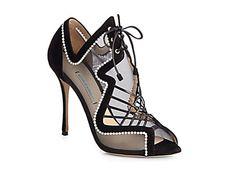 Pearls on Shoes?  Yes, please- Nicholas Kirkwood