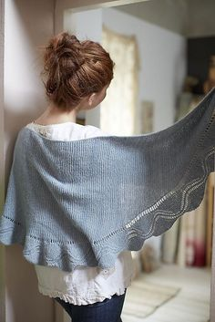 1 skein knitting project! Loop London Charm Shawl Knitting Pattern, $7.95 (http://www.nobleknits.com/loop-london-charm-shawl-knitting-pattern/)